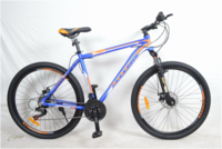 "Велосипед Titan X2716 Vbr 26"" St сине-оранжевый"