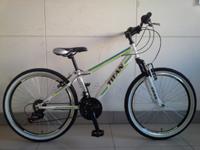 "Велосипед Titan Force Vbr 24"" St бело-зеленый"