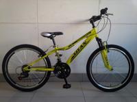 """Велосипед Titan Moon Vbr 24"""" St желто-черный"""