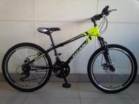 "Велосипед Titan Rider DD 24"" St желто-черный"