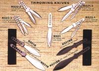 K622-1 Два метательных ножа в нейлоновом чехле,