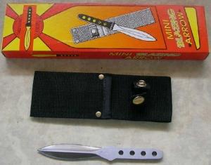 TWIN TOWER, K623 Метательный нож в нейлоновом чехле 5