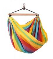 Детский подвесной гамак-палатка La Siesta Iri rainbow
