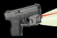 Целеуказатель LaserMax на скобу для Glock 42/43/43X/48 с фонарем (красный)
