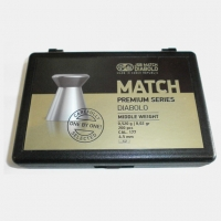 Пули JSB Match Premium middle 4.52мм, 0.52г