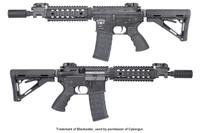 Штурмовая винтовка KING ARMS Blackwater BW15 CQB