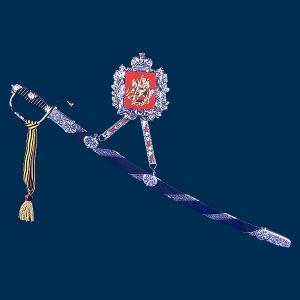 Сувенирное оружие, Сабля кавалерийская в ножнах на подвеске