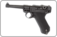 KWC, Пневматический пистолет KWC P-08 Luger KMB41D