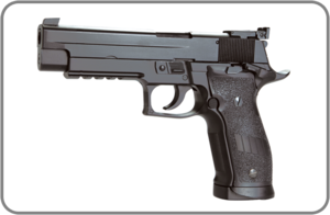 KWC, Пневматический пистолет KWC Sig sauer KMB74
