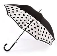 Женский зонт-трость Fulton Bloomsbury-2 Polkadot
