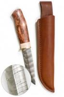 Нож Karesuandokniven Norrsken Damask Ножны в комплекте