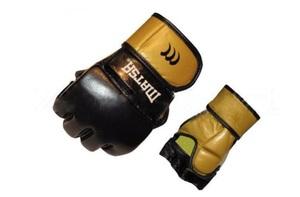 Перчатки для рукопашного боя и смешанных единоборств ММА, Перчатки для смешанных единоборств MMA Кожа MATSA