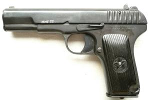 Макеты массогабаритные, ММГ Пистолет ТТ