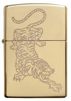 29884 Зажигалка Zippo 254B Tattoo Tiger Design