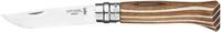 Нож Opinel №8 VRI Laminated коричневый