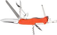 Нож PARTNER HH042014110, 10 инструментов (оранжевый)