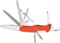 Нож PARTNER HH052014110, 11 инструментов (оранжевый)