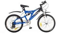 "Велосипед Optimabikes NITRO AM 20"" St чёрно-синий"