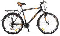 "Велосипеды Optimabikes, Велосипед в коробке Optimabikes WATSON HLQ AM 26"" рама-21"" Al черный"