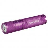 Фонарь Fenix E05 фиолетовый
