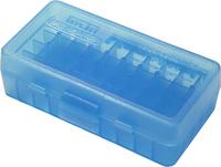 Кейс для патронов MTM 7,62x25; 5,7x28; 357 Mag Blue