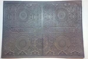 Кожгалантерея, Обложка для паспорта орнамент