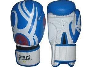 Перчатки для бокса, Перчатки боксерские Кожа ELAST 12oz