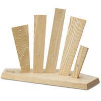 Подставка для ножей Due Cigni Vela Five. Цвет - ясень