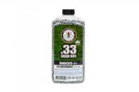 Шары 6мм G&G BIO 0.33g Precision BB Bottle (5600 BBs) - Grey