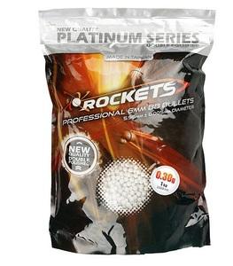 Шары Airsoft, Шары 6мм Rockets Platinum 0,30g 1кг