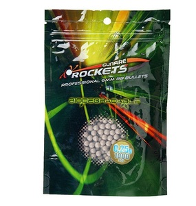 Шары Airsoft, Шары 6мм Rockets Professional BIO 0,25g 1000шт.