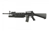 Штурмовая винтовка с подствольным гранатометом Specna Arms M16 SA-G02 Black