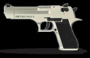 Retay, Пистолет стартовый Retay Eagle satin