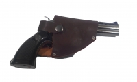Зажигалка Револьвер средний в кобуре