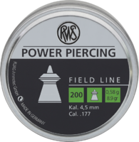 Пули RWS Power Piercing 0.58g (200) к.4,5