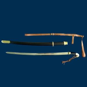 Сувенирное оружие, Шашка кавалерийская в ножнах с портупеей