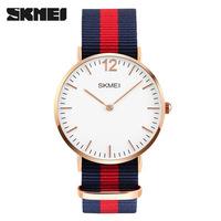 Часы Skmei 1181 Blue/Red/Blue Nylon BOX