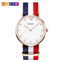 Часы Skmei 1181 Blue/White/Red Nylon BOX