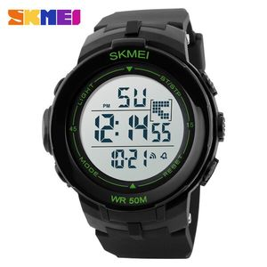 Skmei, Часы Skmei DG1127 Black - Green Box