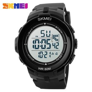 Skmei, Часы Skmei DG1127 Black - White