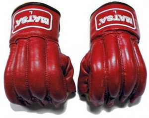 Снарядные перчатки и битки, Снарядные перчатки шингарды Матsа Red L