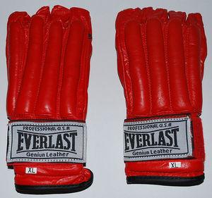 Снарядные перчатки и битки, Перчатки снарядные Everlast Red