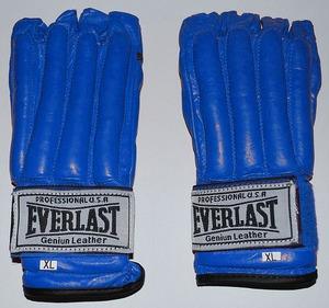 Снарядные перчатки и битки, Перчатки снарядные Everlast Blue