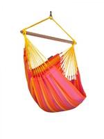 Подвесной стул-гамак La Siesta Sonrisa mandarine