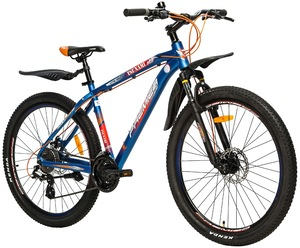 "Велосипеды Premier, Велосипед Premier Tsunami 27 Disc 18"" Neon Blue"