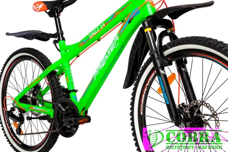 Велосипед Premier Eagle 24 Disc 15 Green - Купить ...