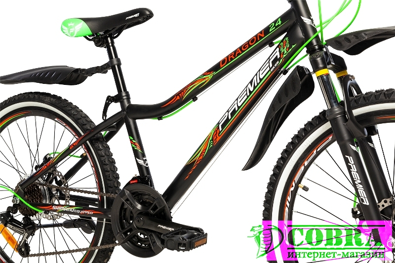 Велосипед Premier Dragon 24 Disc 13 Black - Купить ...