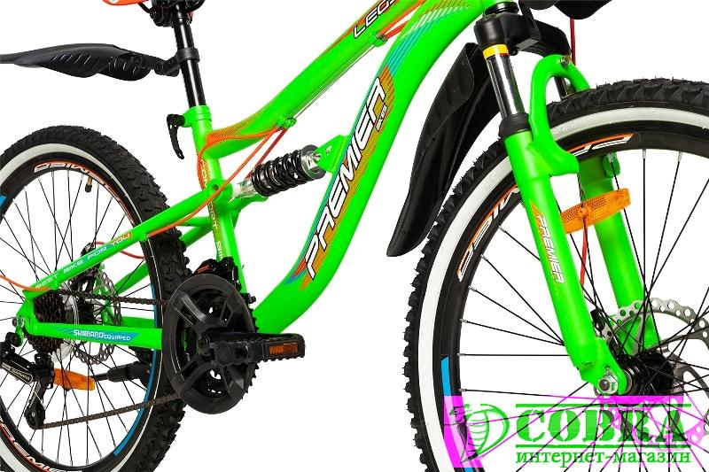 Велосипед Premier Legion 24 Disc 13 Green - Купить ...