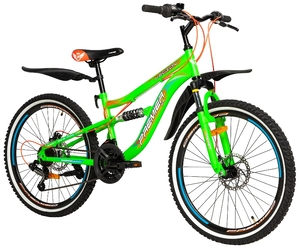 Велосипеды Premier, Велосипед Premier Legion 24 Disc 13 Green
