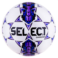 Мяч футбольный Select №4 Diamond Duxon Purple